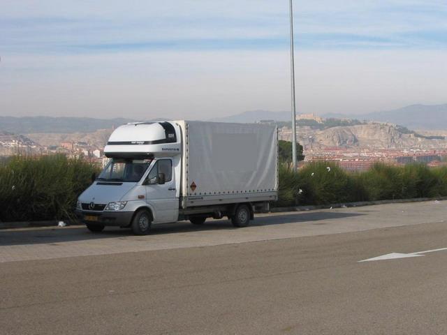 Piros lámpával körbe-körbe Európán - Mercedes-Benz Sprinter