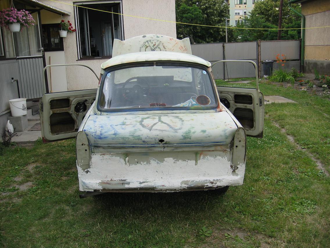 Trabant 601 gyújtás hiba