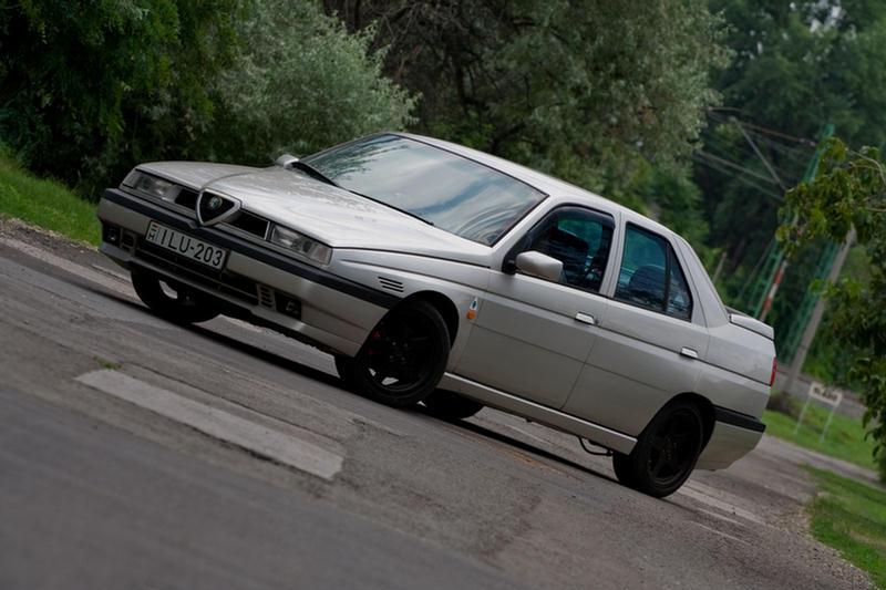 A klasszikus Q4 - Alfa Romeo 155 1992 - Totalcar autós népítélet 982599bc48
